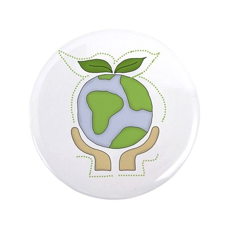 "Earth in Our Hands 3.5"" Button (100 pack)"