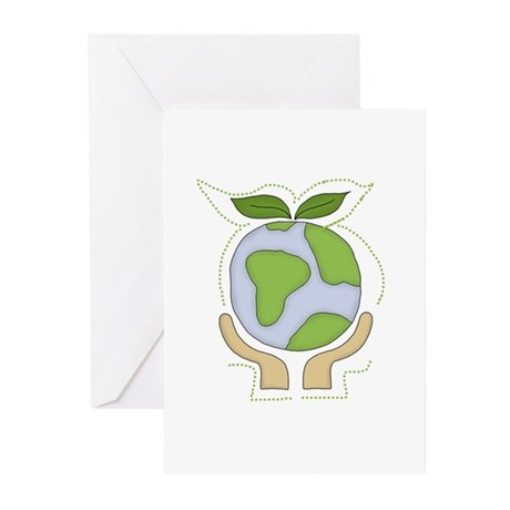 Earth in Our Hands Greeting Cards (Pk of 10)