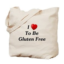 Love To Be Gluten Free Tote Bag
