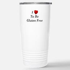 Love To Be Gluten Free Stainless Steel Travel Mug