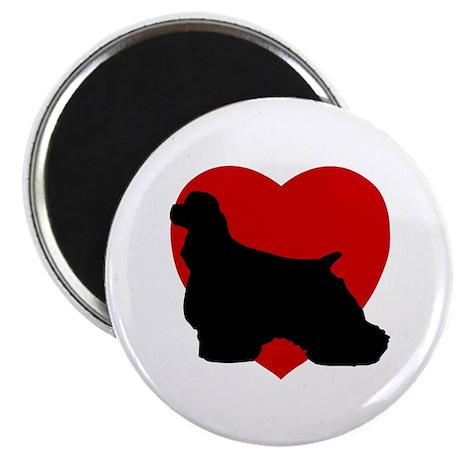 "Cocker Spaniel Valentine's Day 2.25"" Magnet (10 pa"