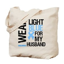 IWearLightBlue Husband Tote Bag