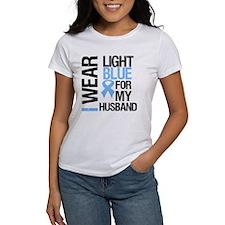 IWearLightBlue Husband Tee