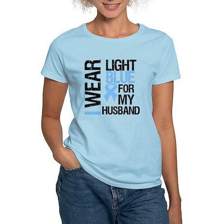 IWearLightBlue Husband Women's Light T-Shirt