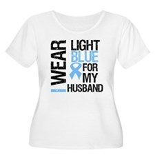 IWearLightBlue Husband T-Shirt