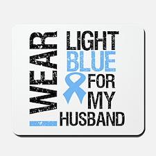 IWearLightBlue Husband Mousepad