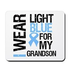 IWearLightBlue Grandson Mousepad