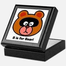 B is for Bear Keepsake Box
