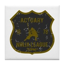 Actuary Ninja League Tile Coaster