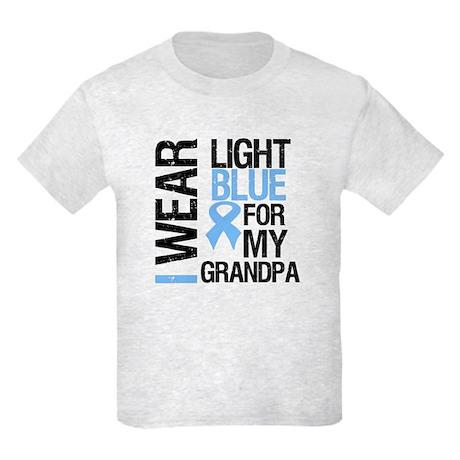 IWearLightBlue Grandpa Kids Light T-Shirt