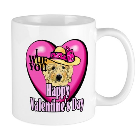 Goldendoodle Valentines Day Mug