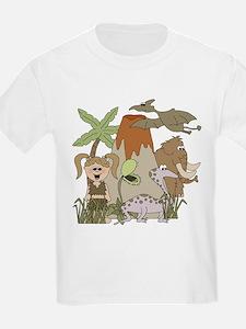 Girl Prehistoric Life T-Shirt
