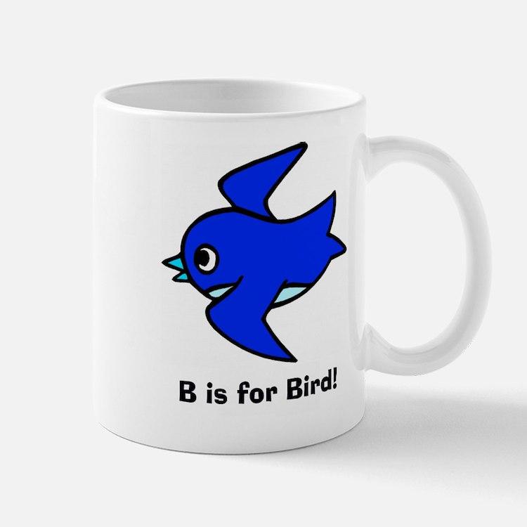 B is for Bird Mug