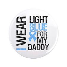 "IWearLightBlue Daddy 3.5"" Button (100 pack)"