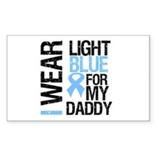IWearLightBlue Daddy Rectangle Decal