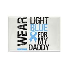 IWearLightBlue Daddy Rectangle Magnet