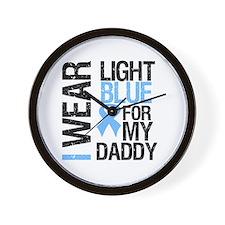 IWearLightBlue Daddy Wall Clock