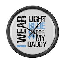 IWearLightBlue Daddy Large Wall Clock