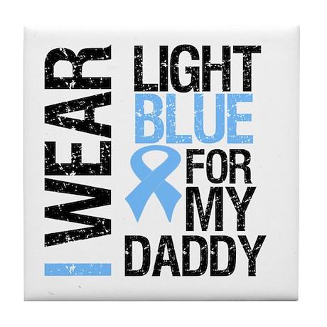 IWearLightBlue Daddy Tile Coaster