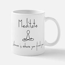 meditate_10x8 Mugs