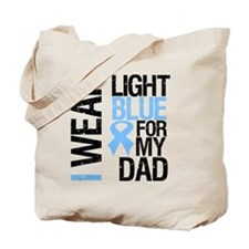 IWearLightBlue Dad Tote Bag