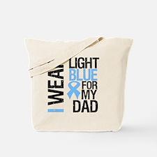 IWearLightBlue Dad Tote Bag