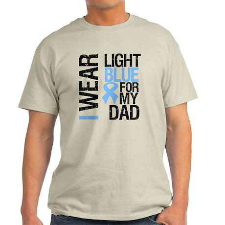 IWearLightBlue Dad Light T-Shirt