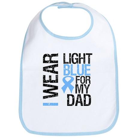 IWearLightBlue Dad Bib