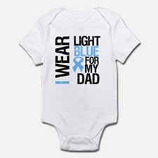 IWearLightBlue Dad Infant Bodysuit