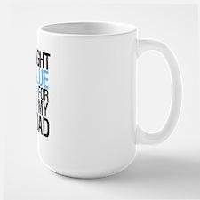 IWearLightBlue Dad Mug