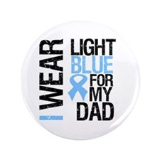 "IWearLightBlue Dad 3.5"" Button (100 pack)"