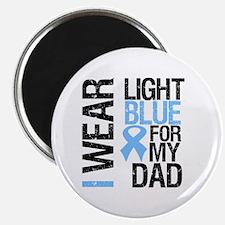 IWearLightBlue Dad Magnet