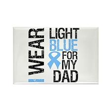 IWearLightBlue Dad Rectangle Magnet
