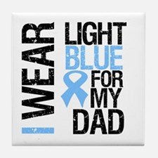 IWearLightBlue Dad Tile Coaster