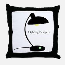 Lighting Designer 1 Throw Pillow