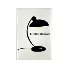 Lighting Designer 1 Rectangle Magnet (10 pack)