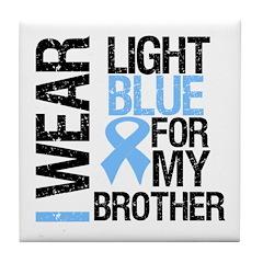 IWearLightBlue Brother Tile Coaster