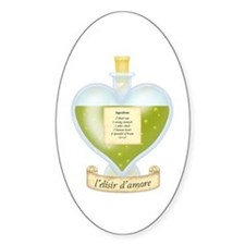 Blind Love Potion Oval Decal