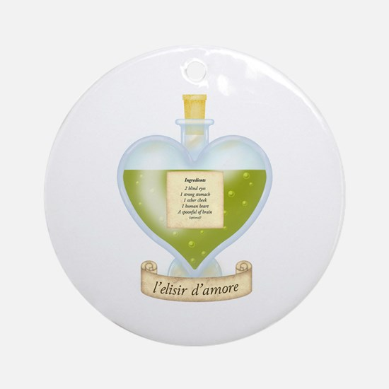 Blind Love Potion Ornament (Round)