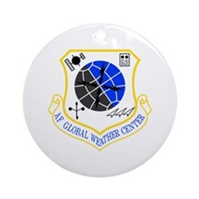 Global Weather Ornament (Round)
