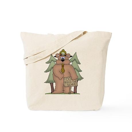 DO Feed the Bears Tote Bag