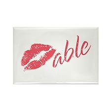 Kissable Valentine Rectangle Magnet (10 pack)