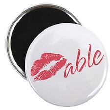 Kissable Valentine Magnet