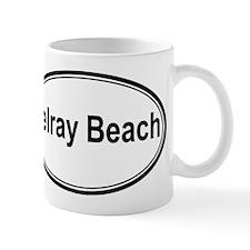 Delray Beach (oval) Mug