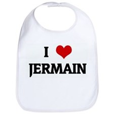 I Love JERMAIN Bib