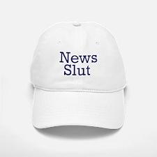 News Slut Baseball Baseball Cap
