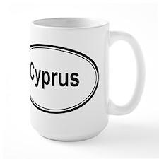 Cyprus (oval) Mug