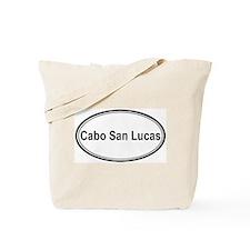 Cabo San Lucas (oval) Tote Bag