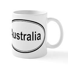 Australia (oval) Mug