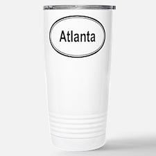 Atlanta (oval) Travel Mug